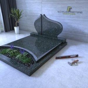 Dubbele grafstenen