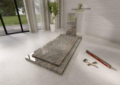 Grafsteen Breedeweg himalaya