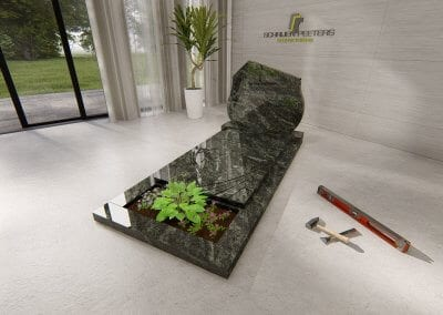 Grafsteen Cuijk emerald green
