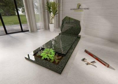 Grafsteen Cuijk hassan green
