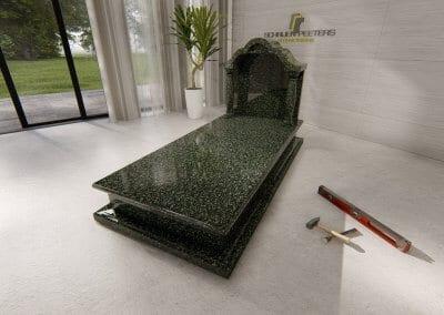 Grafsteen Ledeacker hassan green