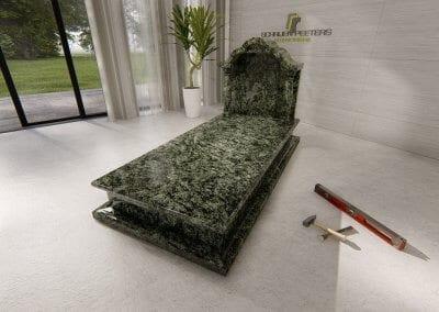 Grafsteen Ledeacker olive green