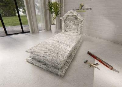 Grafsteen Ledeacker whiscount white
