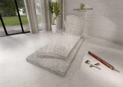 Grafsteen Mook asian white