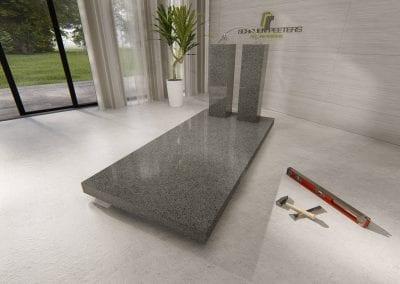 Grafsteen Gennep (deluya grey)