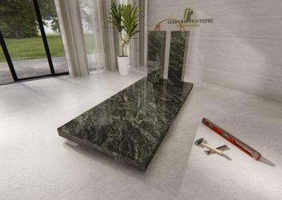 Grafsteen Gennep (emerald green)