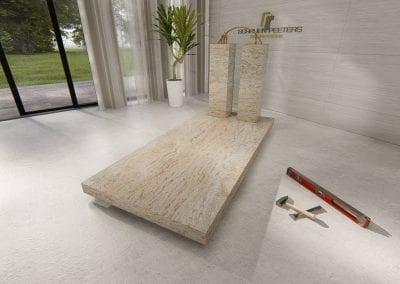 Grafsteen Gennep (ivory brown)