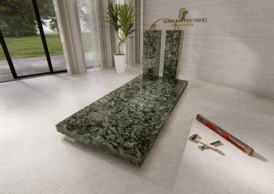 Grafsteen Gennep (olive green)