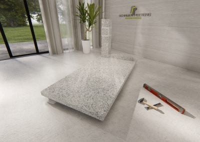 Grafsteen Nederasselt (asian white)