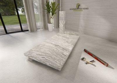 Grafsteen Nederasselt (wishcount white)