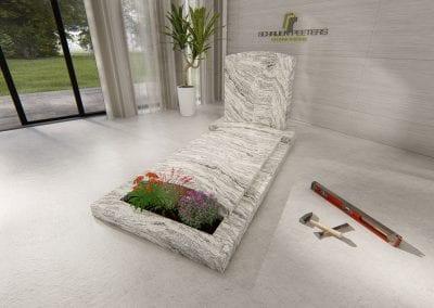 Grafsteen Ravenstein (wishcount white)