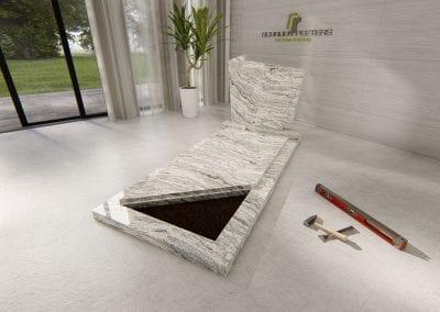 Grafsteen Westerbeek (whiscount white)